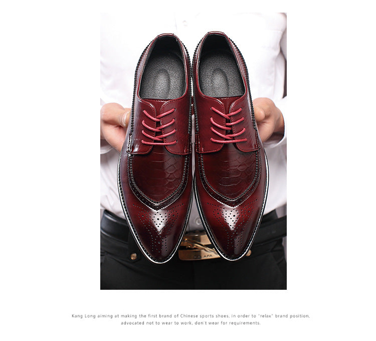 ELLEN & BENNA Crocodile Oxfords