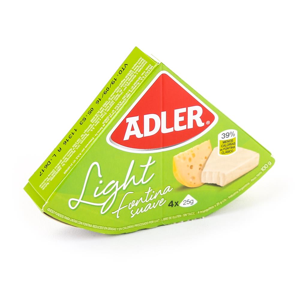 Queso Adler Light x 100 Gr