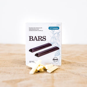 Barras chocolate blanco