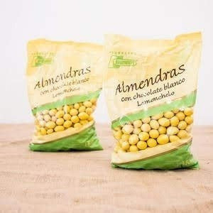 Almendras con chocolate lemonchello X 1 Kg
