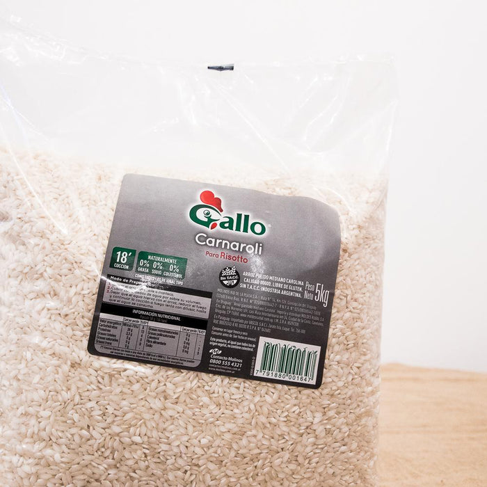Arroz carnaroli Gallo x 5 Kg