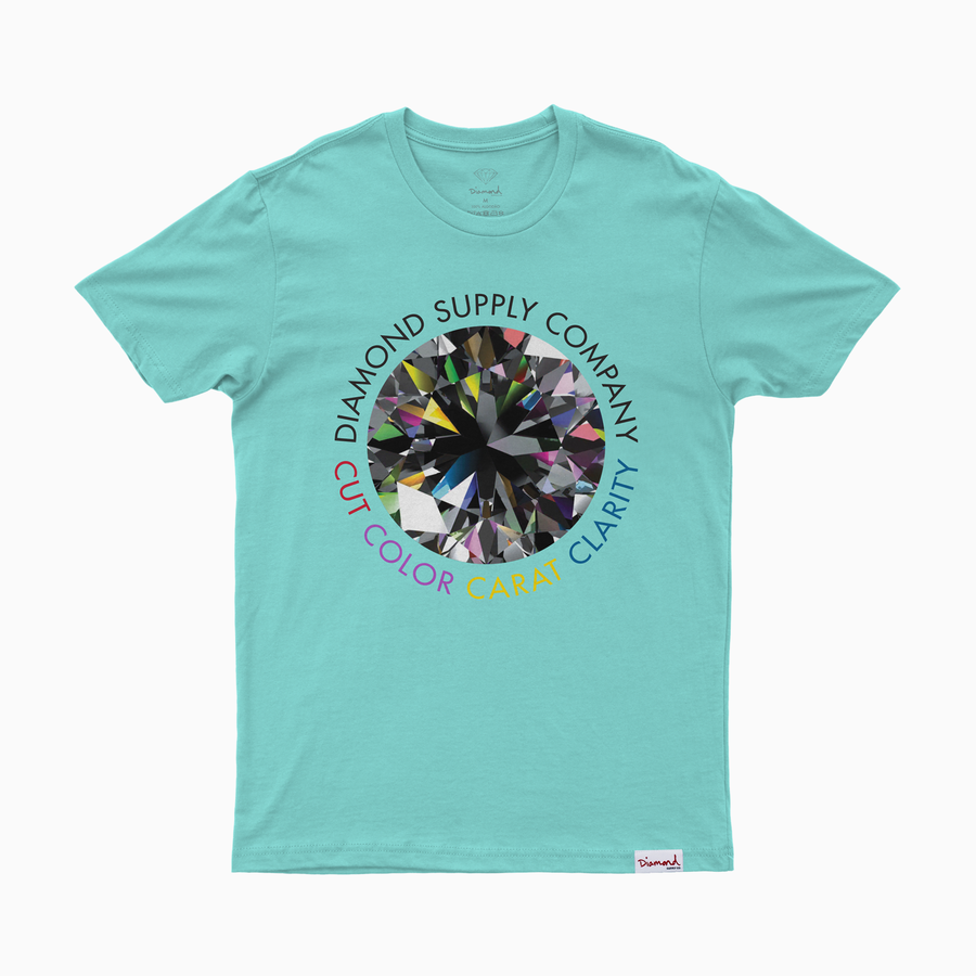 T-SHIRT DIAMOND CLARITY TEE - A20DMPA010