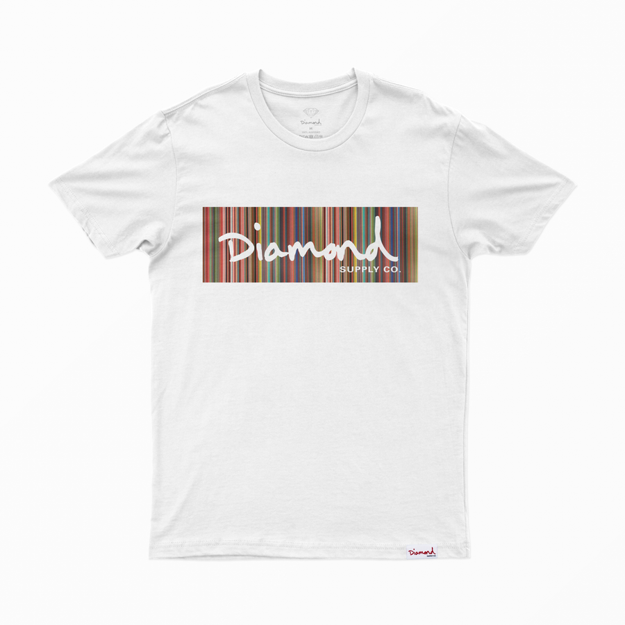 T-SHIRT DIAMOND COLOR PLY BOX LOGO TEE - A20DMPA014