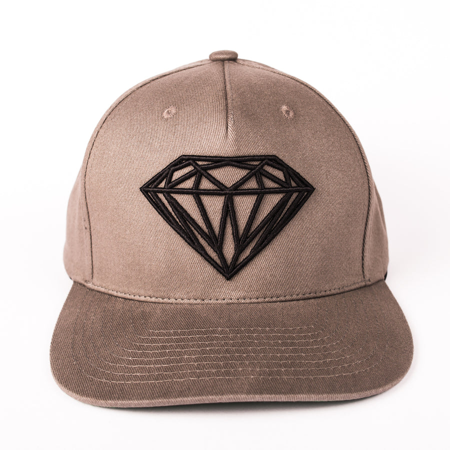 HEADWEAR DIAMOND BRILLIANT SNAPBACK - B18DMHA007