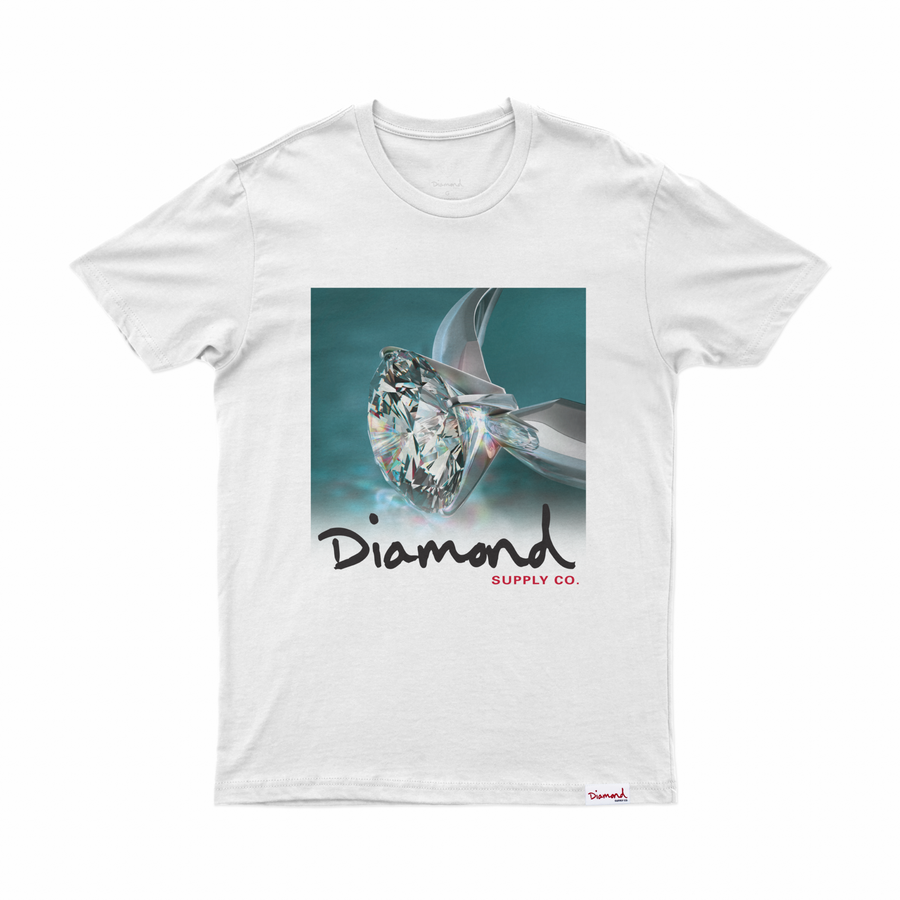 T-SHIRT DIAMOND SHIMMER TEE - C19DMPA001 - Diamond Supply Co. Brasil