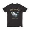 T-SHIRT DIAMOND WORLD IS YOURS TEE - C19DMPA007 - Diamond Supply Co. Brasil