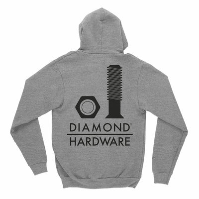 SWEATSHIRTS DIAMOND SECURED HOODIE - C19DMPF011