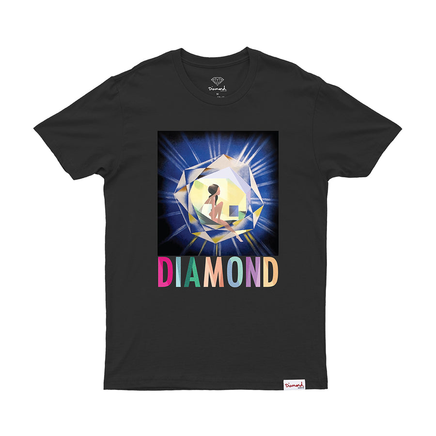 CAMISETA DIAMOND GEM TEE - C20DMPA003