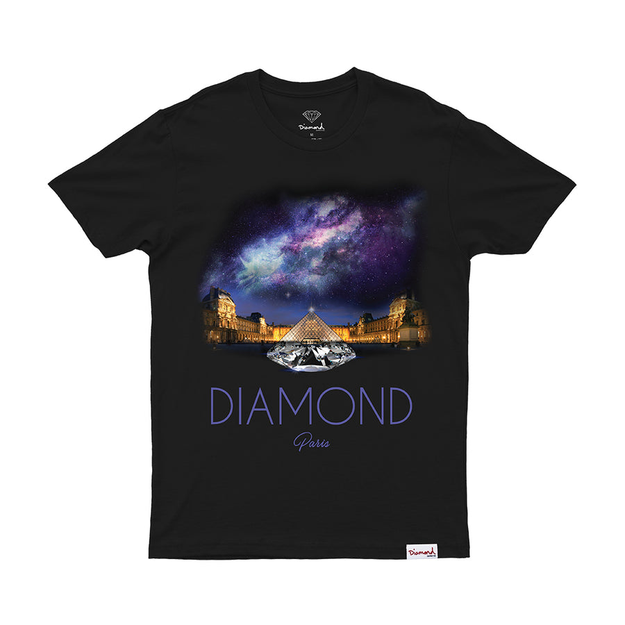 CAMISETA DIAMOND LOUVRE PIRAMID TEE - C20DMPA004