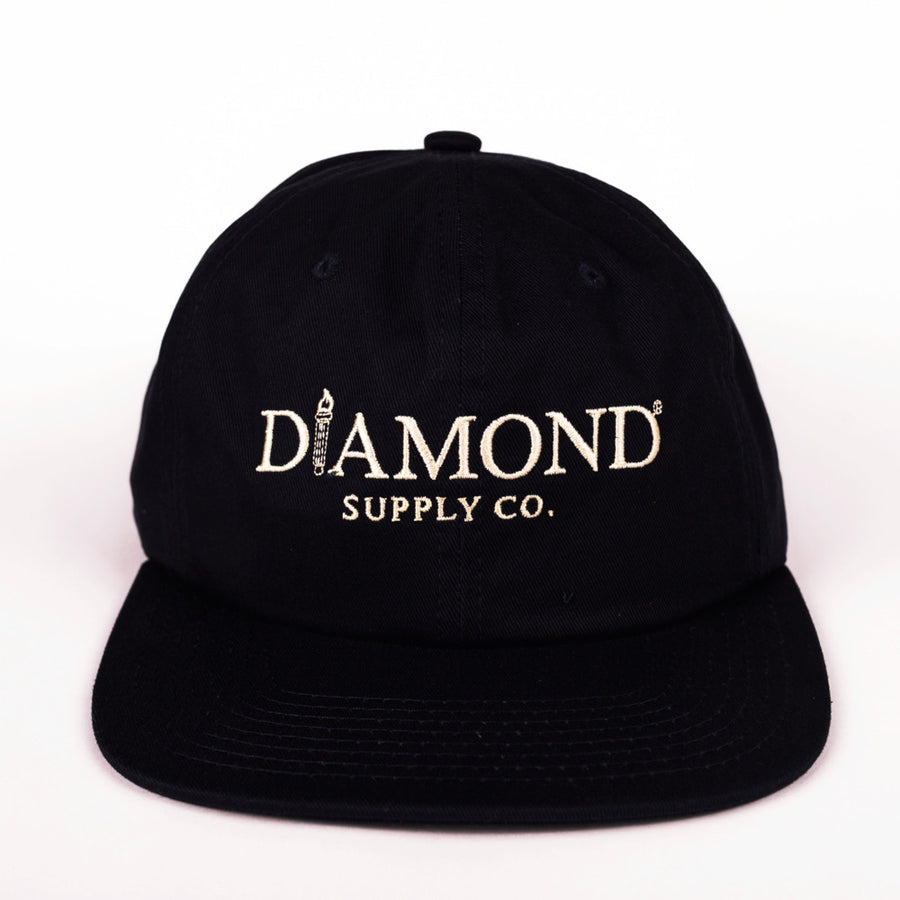 HEADWEAR DIAMOND MAYFAIR UNCONSTRUCTED STRAPBACK - D17DMHG02
