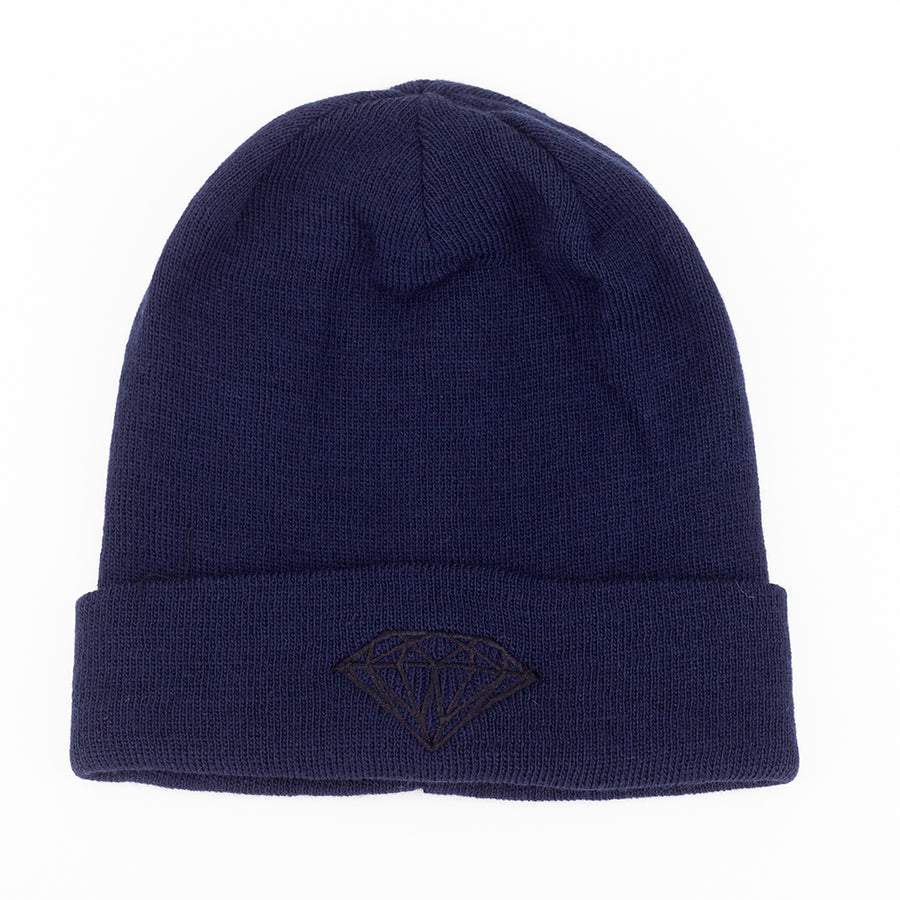 BEANIE DIAMOND BRILLIANT CUFFED RIB - D18DMHF001