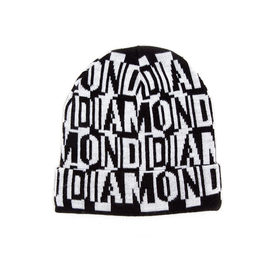 BEANIE DIAMOND JUMBLED - D19DMHF001