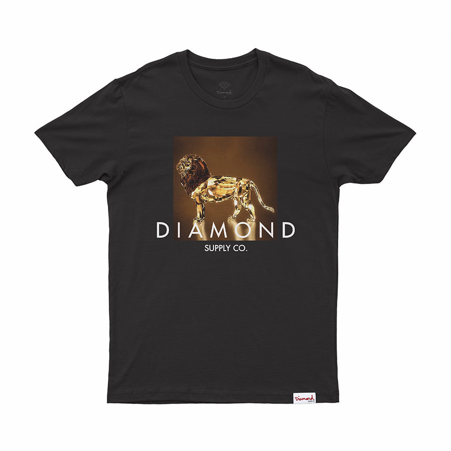 T-SHIRT DIAMOND GEO LION TEE - D19DMPA008