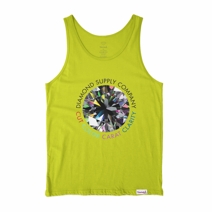 T-SHIRT DIAMOND CLARITY TANK - V21DID001