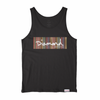 T-SHIRT DIAMOND COLOR PLY BOX LOGO TANK - V21DID002