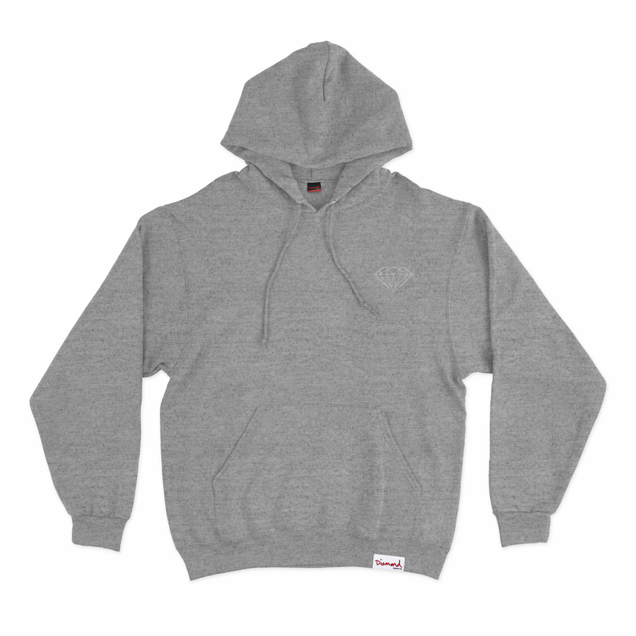 SWEATSHIRTS DIAMOND OG BRILLIANT HOODIE - Z16DPF04-CR - Diamond Supply Co. Brasil