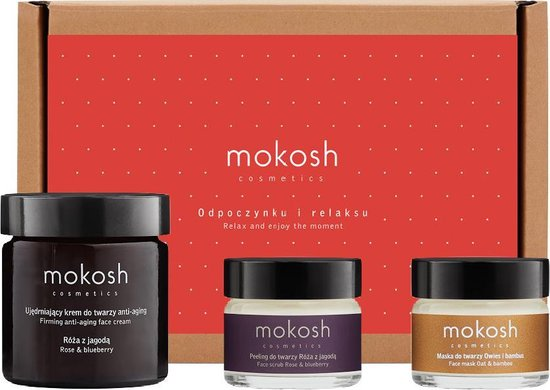 Mokosh | Gift Set Rose Youth Face Set
