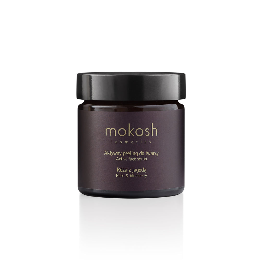 Mokosh | Active Face Scrub Rose & Blueberry 60ml