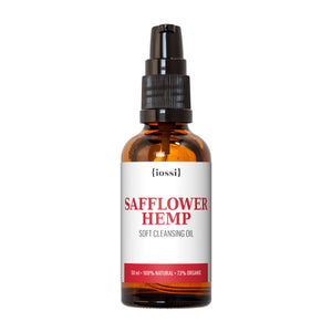 IOSSI | Safflower and Hemp Soft Cleansing Oil