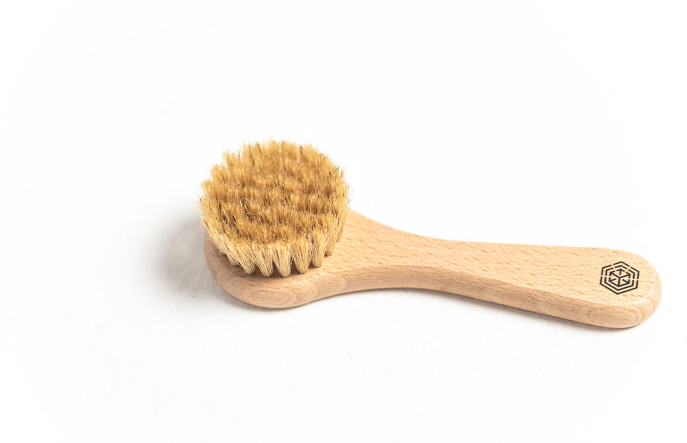 Nested | Massage Dry Brush for Face & Neck