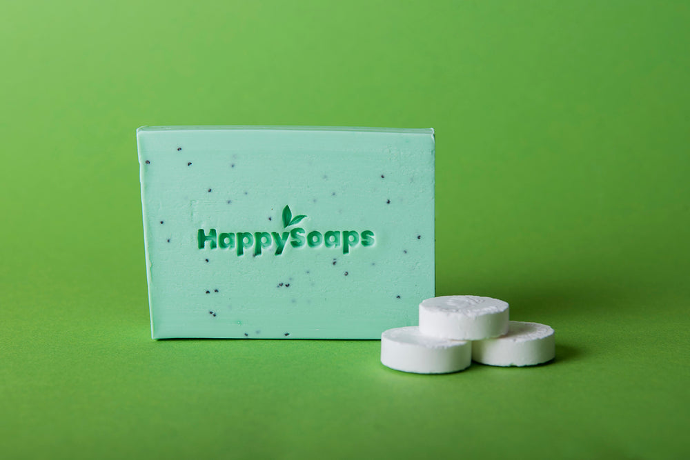 HappySoaps | Happy Body Bar Tea Tree & Pepermunt