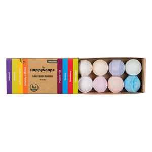 HappySoaps | Mini Bath Bombs Tropical Fruits