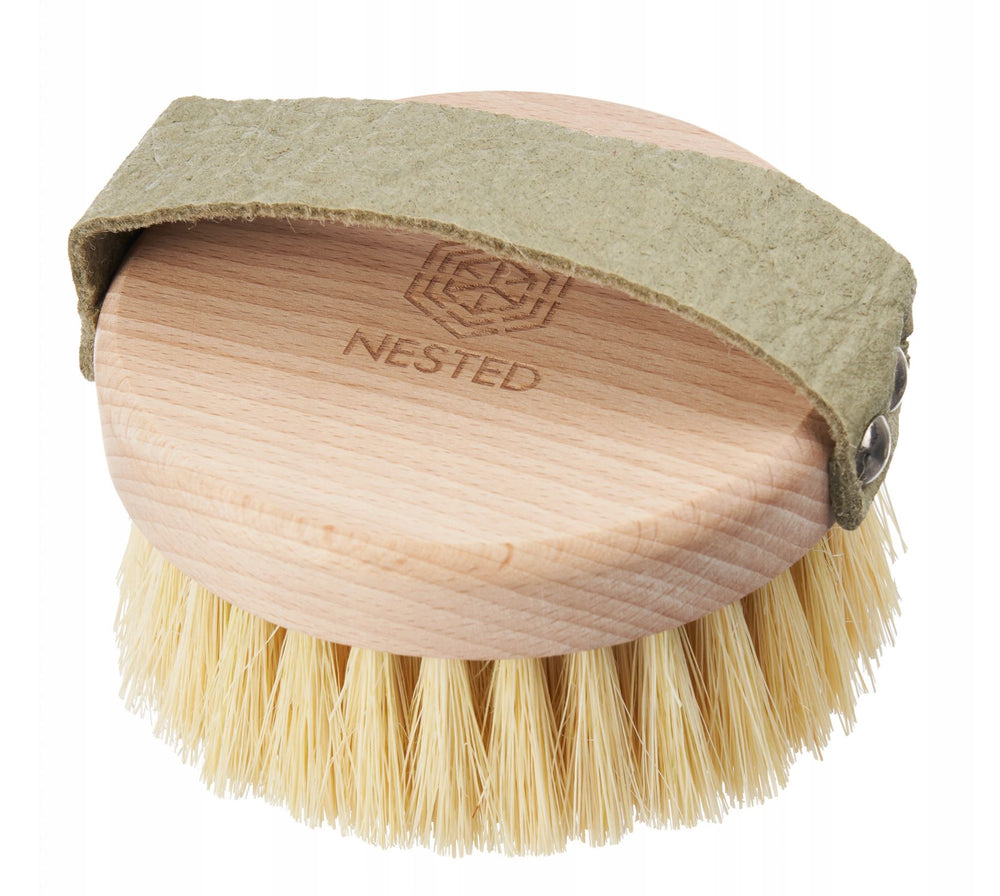 Nested | Body Massage Dry Brush met Ananasleer