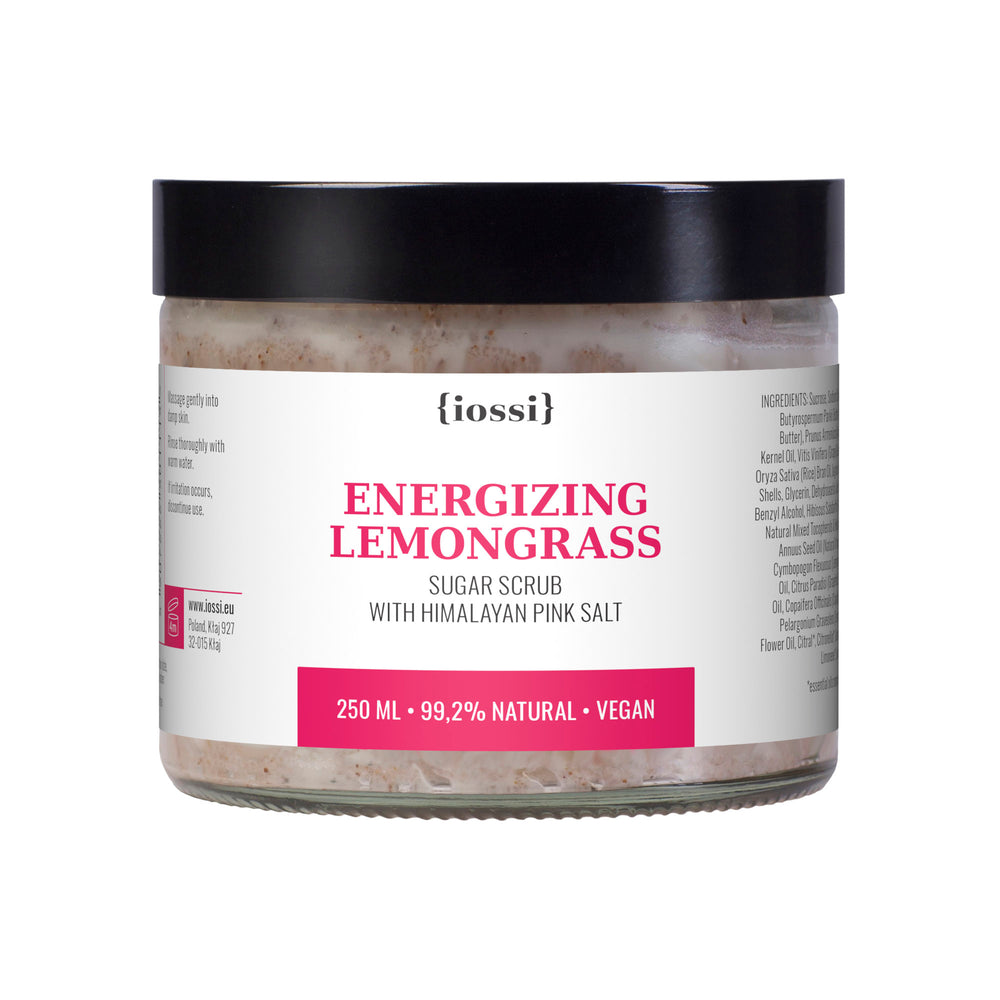 IOSSI | Energizing Lemongrass Body Scrub