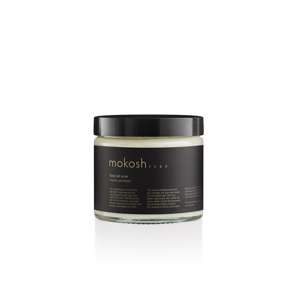 Mokosh ICON | Body Salt Scrub Vanille en Tijm