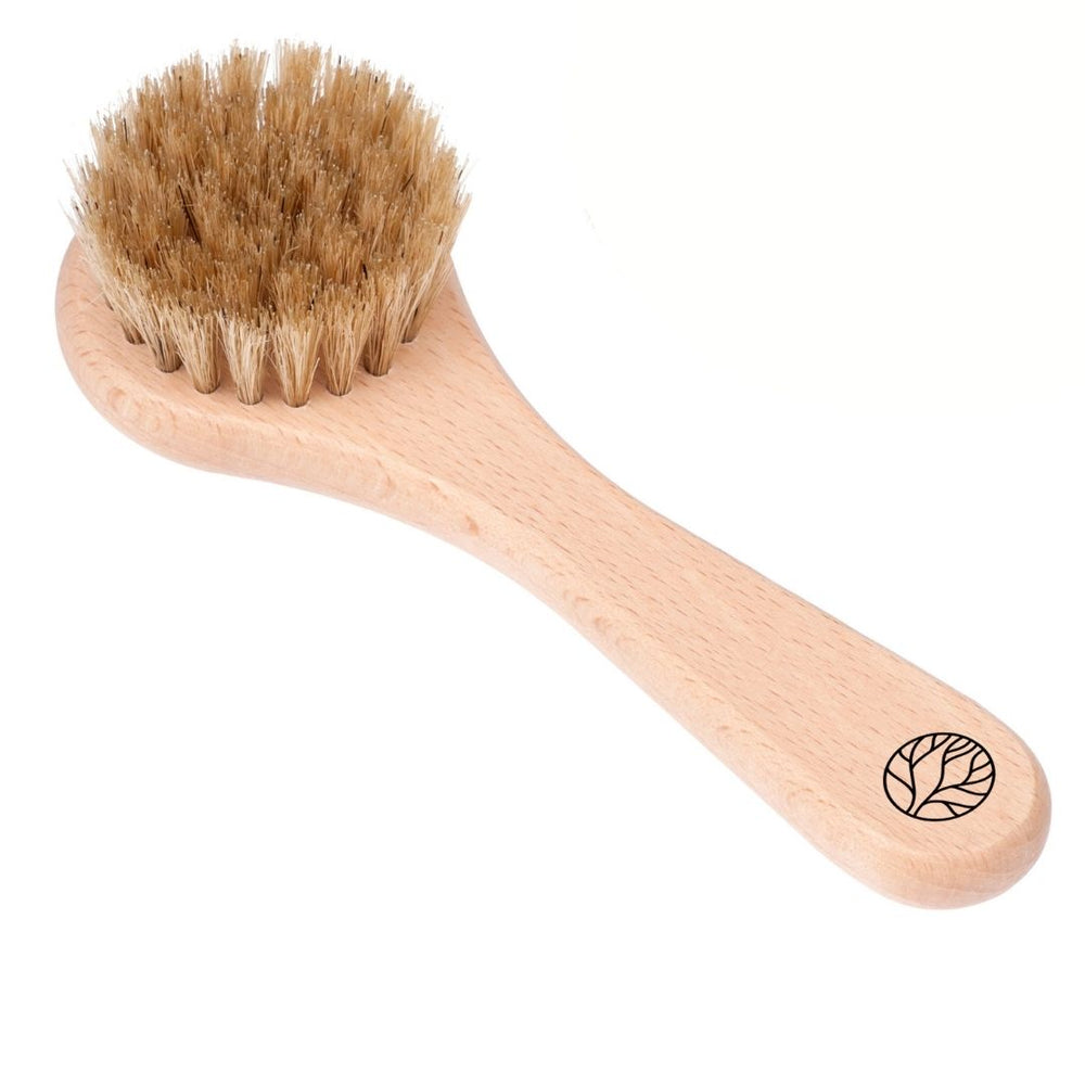 Origanic | Massage Dry Brush for Face & Neck