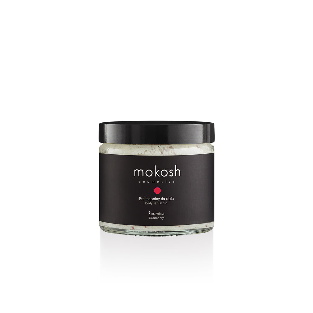 Mokosh | Body Salt Scrub Cranberry