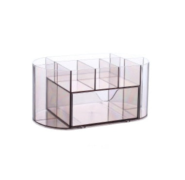 Desktop cosmetics organizer storage box multifunction can storage pen daily necessities small items be used in the office & home