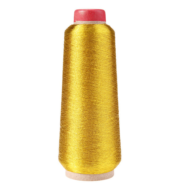 3000M Gold/Silver Computer Cross-stitch Embroidery Threads Line Textile Metallic Yarn Woven Embroidery Line Sewing Accessories