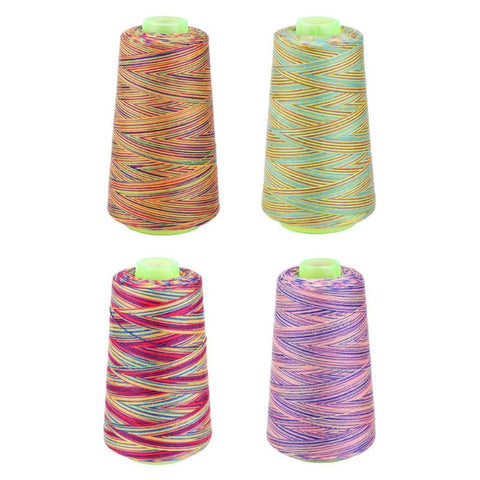 Rainbow Cross Stitch Sewing Threads Textile Yarn Thread Craft DIY Embroidery Sewing Thread Knitting Accessories