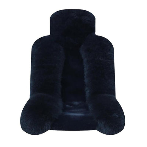 Car Front Seat covers Simple Winter Sheepskin Plush Car Cushion Pad Plush Wool Cushion Sheep Fur Skin and Plush Material
