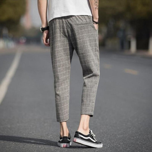 REBEL PLAID JOGGERS