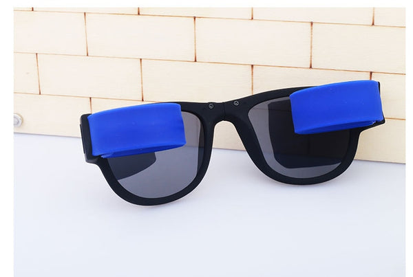 Folding Slap On Sunglasses