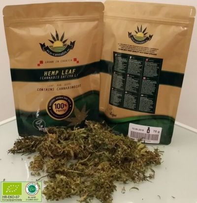 eco-cannabis - Hemp Tea Whole Buds (70g) - Eco Certified (HR-EKO-07)