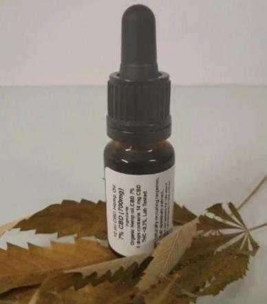 CBD oil 5% (10 ml - 500mg cbd) - Eco certified (HR-EKO-07)