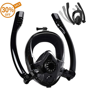 2019 Newest Full Face Snorkel Mask