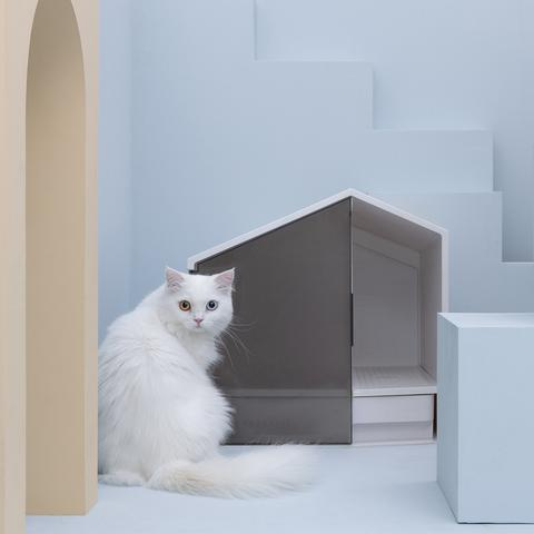 HOUSE-STYLE EXQUISITE CAT SAND BASIN