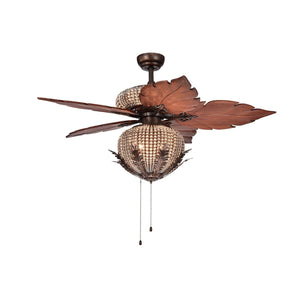 Crystal Ceiling Fan - Anemos Home Decor