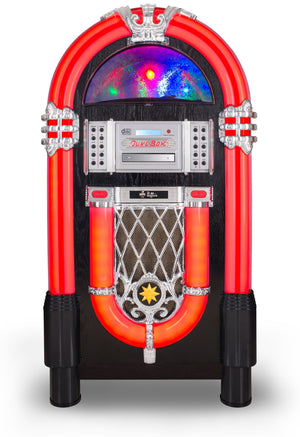 Full Size New-Style 7-color changing Led Jukebox - Anemos Home Decor