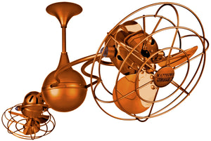 Italo Ventania Orange Ceiling Fan
