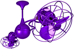 Italo Ventania Purple Ceiling Fan
