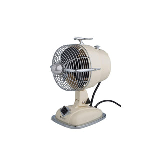 Mini Jet Ivory Table Fan