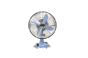 Retro Blue Table Fan