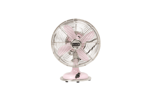 Retro Pink Table Fan