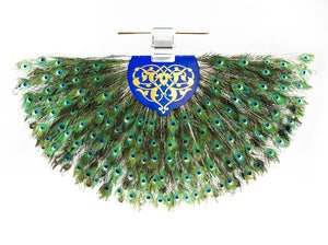 The Solitaire Punkah - The Peacock Ceiling Fan - Anemos Home Decor