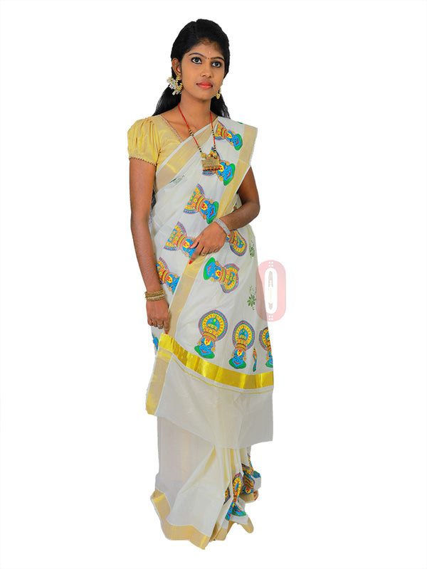Kerala Saree PS528
